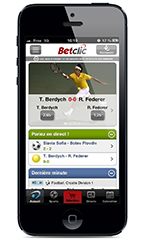 application betclic iphone