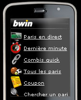 appli bwin android