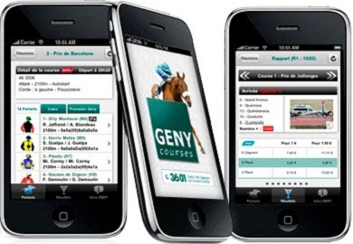 appli genybet android