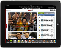 application betclic ipad