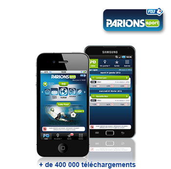 appli parionsweb android
