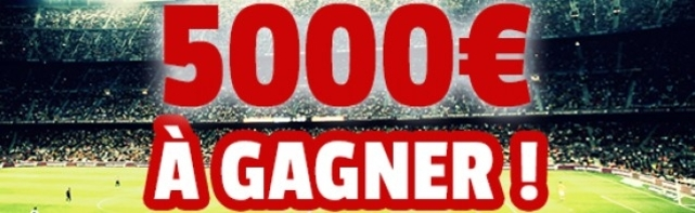 Challenge de la rentrée sur France Pari avec 5 000 euros à gagner
