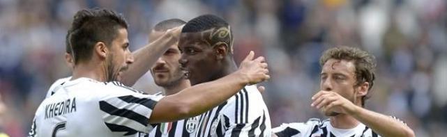Parier Juventus Lazio Rome du 20/04/2016